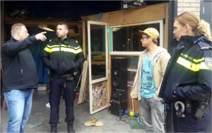 Police at HQ