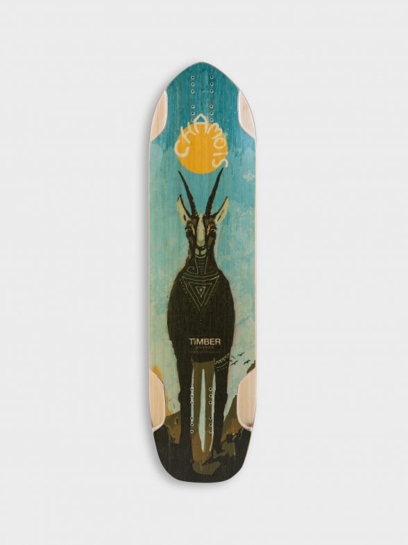 Timber Chamois Single kick Downhill Longboard