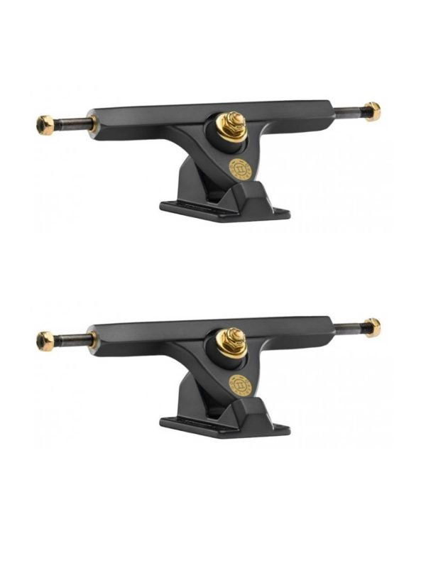 Freestyle Trucks Caliber Smokey Satin Longboard Trucks