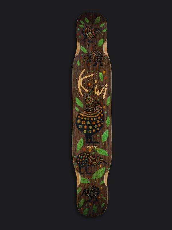 Handmade freestyle longboard Kiwi